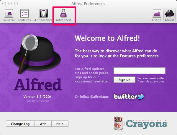 Alfred Preferences